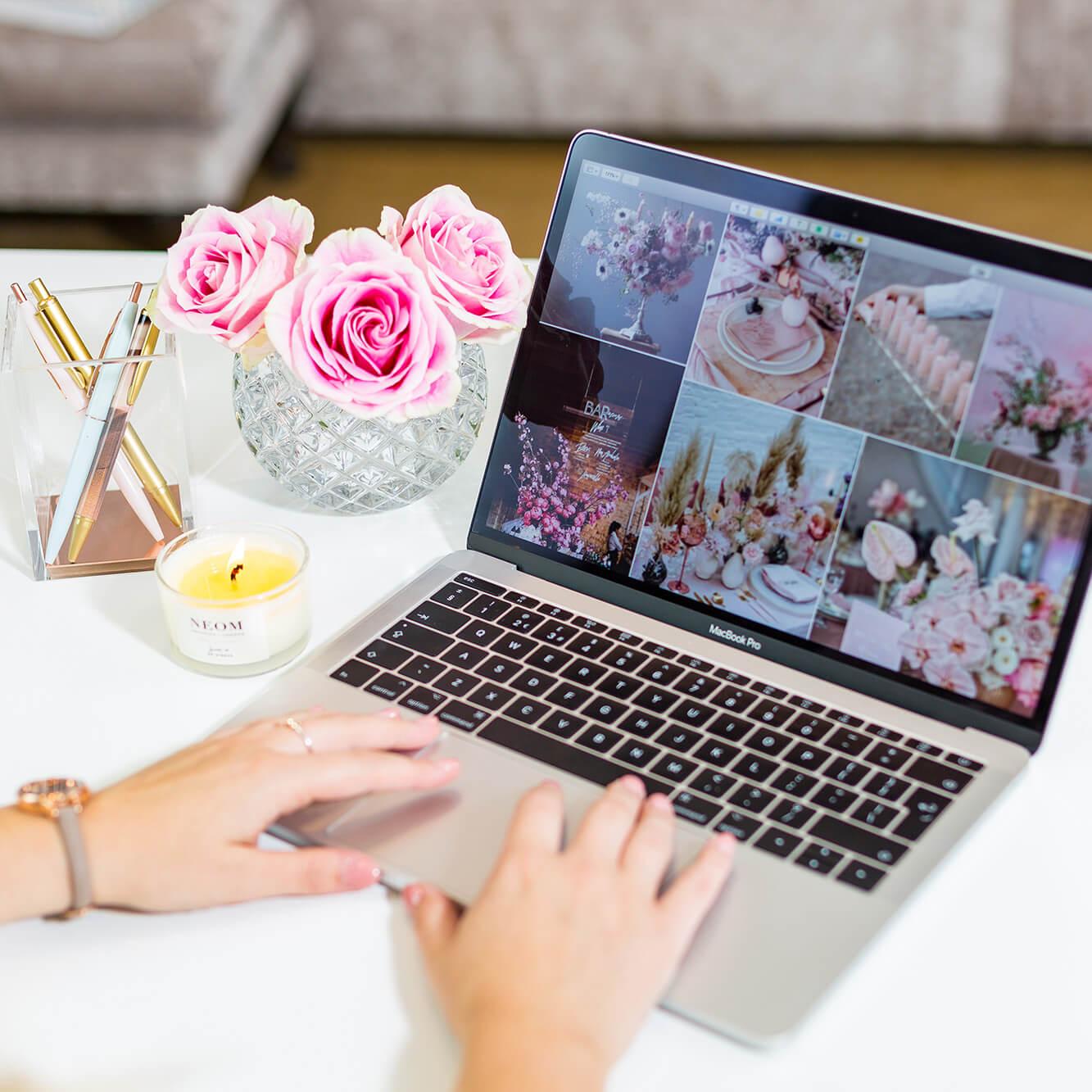 Maple Rose Mood Board