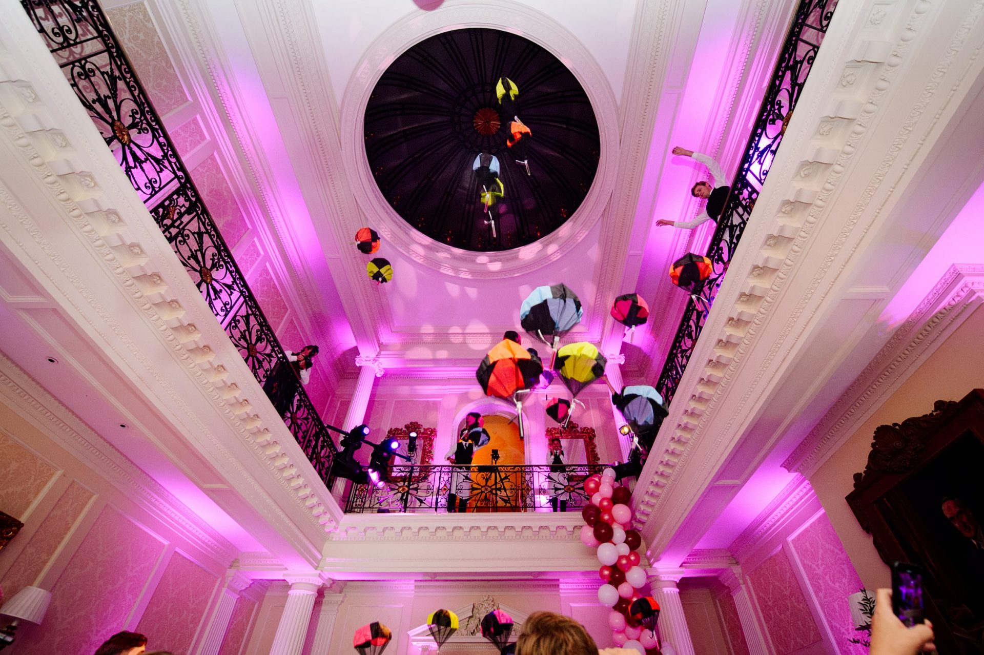 Hedsor House Wedding Party Centre Hall